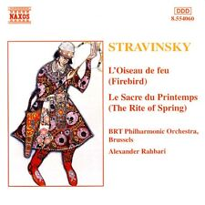 BRT Philharmonic Orchestra-Stravinsky - Firebird, The Rite of Spring CD
