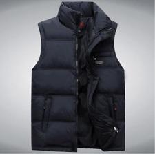 HOT Sales Men's Fashion Winter Warm Vest Waistcoat stand Collar Jacket New