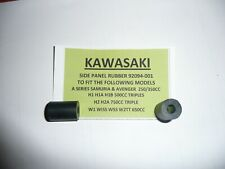 KAWASAKI A1 250 SAMURAI MODELS SIDE PANEL RUBBER 92094-001