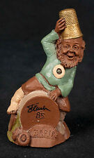 Tom Clark Thimble People Darn #5049 Gnome Cairn Retired