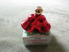 Vintage 1974 Avon Christmas Bells Topaz Cologne