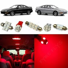 8x Red LED lights interior package kit for 1994-2001 Acura Integra AG1R