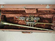 Getzen Super Deluxe Tone Balanced Herald Trumpet copper & Brass vintage