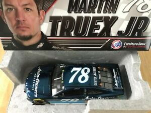 BRAND NEW 2018 * #78 MARTIN TRUEX JR * AUTO OWNERS * 1 of only 72 * Color Chrome