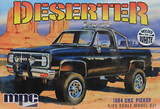 1984 GMC DESERTER CUSTOM PICKUP TRUCK MPC 1:25 SCALE PLASTIC MODEL CAR KIT