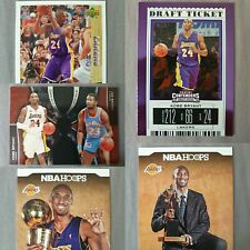 Kobe Bryant Lot of 5 NBA Sport Cards ~TOPPS~PANINI~UPPER DECK~