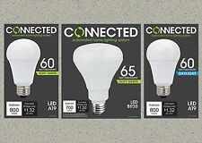 TCP Connected LED 60W 65W Equivalent Soft White (2700K) Daylight (5000) A19 BR30