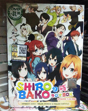 Anime DVD SHIROBAKO Complete TV Series Vol.1-24 End English Subs + FREE ANIME