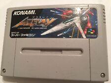 AXELAY Famicom NINTENDO SNES JP JPN JAP NTSC-J FORMAT GAME By KONAMI