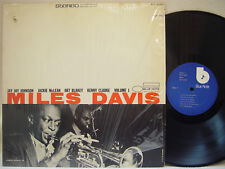 MILES DAVIS - Volume 1 LP (RARE Later US Pressing on BLUE NOTE)