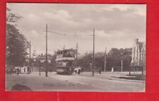 Essex. Whipps Cross, The Turnpike, Tram Postcard.