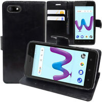 """Etui Housse Coque Pochette Portefeuille Support Video Wiko Sunny3/ Sunny 3 5.0"""""""