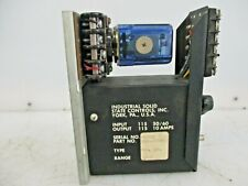 INDUSTRIAL SOLID STATE CONTROLS TIMER REPEAT CYCLE 1060-1DD2B