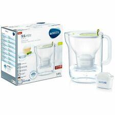 BRITA Maxtra stile XL + Plus 3.6L Caraffa filtrante per frigorifero + 1 Cartuccia-Lime