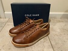 New Cole Haan Size 11 Berkley Casual Sneaker Oxford British Tan Cognac C30745