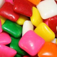 Chicklets Gum, 2 Lb. Dubble Bubble Chiclets Chewing Gum