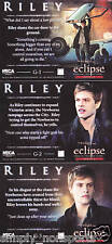 TWILIGHT ECLIPSE SERIES 2 RILEY G1 G2 G3 TRADING CARD