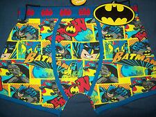 """11-12 years 152cm New BATMAN/ Batman BOXERS/ Boxer Shorts; """"KAPOW!""""; Cotton, GB"""