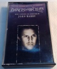 JOHN BARRY Tape cassette DANCES WHIT WOLVES MOTION PICTURE SOUNDTRACK ZT-46982