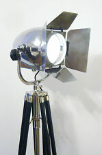 Vintage Cinema proiettore CINEMA Antico Art Deco Argento jielde Bauhaus TEATRO LIGHT