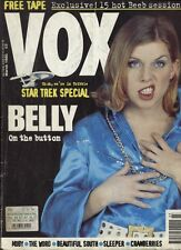 VOX 54 MARCH 1995 BELLY MOBY SLEEPER CRANBERRIES STAR TREK SPECIAL NO TAPE