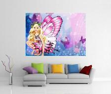 BARBIE GIGANTE Farfalla Parete ARTE FOTO STAMPA POSTER