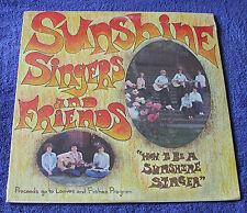 Sunshine Singers & Friends 1970's LP How To Be A Sunshine Singer Portland Oregon