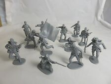 IMEX Civil War Union cannon crew, and Infantry 1/32 - Gray, Toy Soldiers