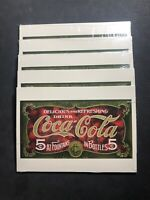 1997 COCA COLA DELICIOUS REFRESHING BAREFOOT BOY HOT DOG LOT OF (15) POST CARDS