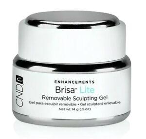 CND BRISA LITE SCULPTING GEL WHITE LED/uv Lamp French Manicure 0.5oz