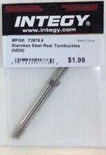Integy T3876.6 Stainless Steel Rear Turnbuckles T/E-maxx
