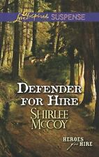Defender for Hire (Love Inspired Suspense), McCoy, Shirlee, Acceptable Book