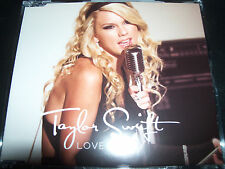 Taylor Swift Love Story Rare Australian Enhanced CD Single