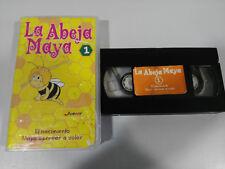 L'ABEILLE MAYA LE VOL DE NAISSANCE 1 APPRENDRE A MOUCHE VHS BANDE FILM CASTILLAN