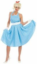 Disfraces de mujer de color principal azul Años 50