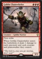 Goblin Chainwhirler x4 Magic the Gathering 4x Dominaria mtg card lot