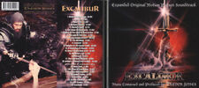 EXCALIBUR Trevor Jones EXPANDED 25th ANNIVERSARY IMPORT ALMOST 90 mins long
