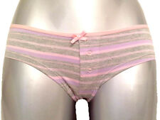 New Cotton Boyshorts 10 - 12 Young girls teenagers pink sparkle stripes pretty