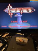 Castlevania (Nintendo 64, 1999) N64 Pins Cleaned Tested Working Free Shipping