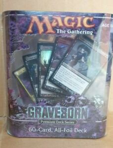 Magic the Gathering Graveborn Sealed Premium Deck Series MTG English