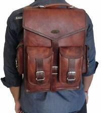 New Women's Backpack Travel Logo Leather Handbag Rucksack Shoulder School Bag
