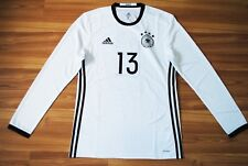 GERMANY 2016/2017 LONGSLEEVE FOOTBALL SHIRT JERSEY TRIKOT ADIDAS ADIZERO #13 M