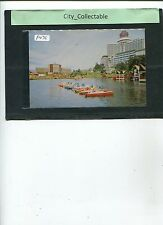 P475 # MALAYSIA USED PICTURE POST CARD * GENTING HIGHLAND LAKE BOATINGS