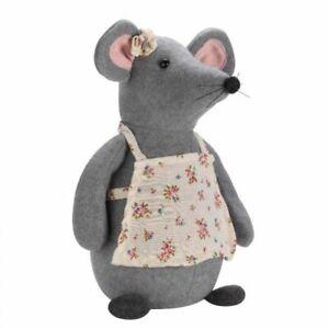 Smart Garden Mrs Mouse Doorstop Plush Door Stop