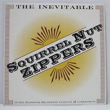 SQUIRREL NUT ZIPPERS - The Inevitable LP 1995 US ORIG MAMMOTH BRIAN SETZER RARE