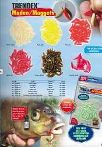 Behr Trendex künstliche Angel-Maden in vielen fängigen Farben Maggots Neu