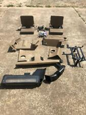 Land Rover Discovery 1 Jump Seats W/ Hardware Tan Interior W/ Rear Air