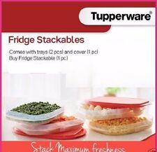 Brand New TUPPERWARE FRIDGE STACKABLES STACKABLE SET - Scarlett