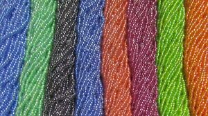 Czech 11/0 Rocaille Glass Seed Beads Color-Lined Luster 8 Color Bundle