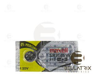 1 x MAXELL 373 SR916SW Silver Oxide Watch Battery - JAPAN - USA Seller